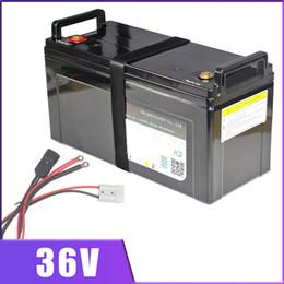 Литиевые батареи для автомобилей онлайн-36V 100AH литий-ионная аккумуляторная батарея 36V 80Ah E велосипед самокат Golf автомобиля Электрический автомобиль литиево-ионным IP68 водонепроницаемый С BMS зарядное устройство