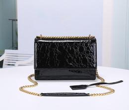 Goldkörperketten online-Designer Taschen Y Geldbörse Kette Schultergurt Luxus Handtasche Mode Totes Schulter Cross Body Gold Hardware Geldbörse Tasche