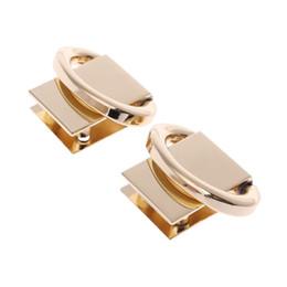 Garnitures en métal pour sacs à main en Ligne-2pcs sacs à main garnitures métalliques bricolage sangles avant et arrière lien anneau accessoires