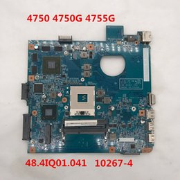 Pour carte mère d'ordinateur portable Aspire 4750 4750G 4755G 48.4IQ01.041 10267-4 HM65 100% complètement testé ? partir de fabricateur