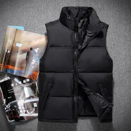 invierno moda hombre cuello blanco pato abajo chalecos chalecos chaquetas abrigos parkas prendas de vestir exteriores desde fabricantes