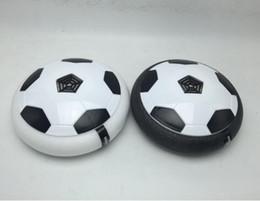 Almofadas flutuantes on-line-Acende-se Almofada de Ar de Futebol Novidade Crianças Brinquedo Bola Flutuante Ao Ar Livre Pairar Suspenso Ar Futebol Futebol Esportes Indoor Inutdoor Jogos