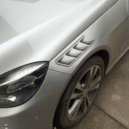 2019 adesivi decalcomania simbolo dell'auto Car Styling 3D Fake Vents Decorative Outlet Side Ventents Adesivi Funny Decals Emblem Symbol Adesivi personalizzati creativi adesivi decalcomania simbolo dell'auto economici