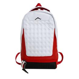 розовые рюкзаки с блестками Скидка 2019 новинка мужская мода на открытом воздухе путешествия спортивный рюкзак женщины свободного покроя белый красный большой емкости кожаные сумки мальчик девочка прочный школьная сумка
