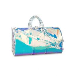 Новый стиль Высочайшее качество Мужская роскошная дизайнерская дорожная сумка для багажа Мужские сумки Keepall Кожаная сумка Сумка бренда Модная роскошная дизайнерская сумка от Поставщики шнуры для обуви