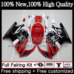 2019 1996 body kits Corpo Vermelho preto Para HONDA CBR600 F3 CBR600RR F3 CBR600FS 95 96 47PG2 CBR 600F3 FS Vermelho CBR600F3 CBR 600 F3 1995 1996 Kit de Carroçaria de Carenagem desconto 1996 body kits