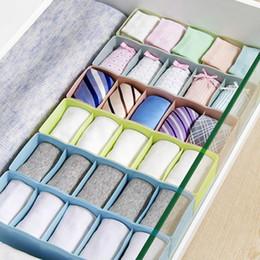 bindung trennwände Rabatt 5 Zellen Kunststoff Organizer Aufbewahrungsbox Krawatte BH Socken Schublade Kosmetikteiler Ordentlich