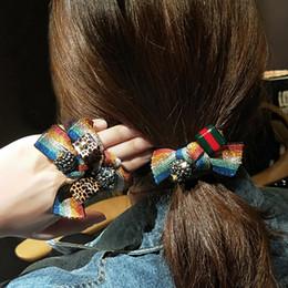 Automne / hiver nouvelle bande de caoutchouc oreilles de lapin moelleux anneau bijoux tête de bâton corde corde cuir bande de caoutchouc fille Tiara adultes ? partir de fabricateur