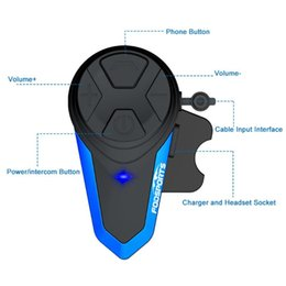 2020 capacete de motocicleta bluetooth sem fio Fodsports BT-S3 Motorcycle Helmet Intercom sem fio Bluetooth Headset Waterproof BT multi Interphone Intercomunicador Moto FM capacete de motocicleta bluetooth sem fio barato