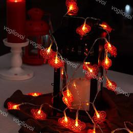 lanterna chinesa luzes de natal Desconto Luzes de natal lanternas chinesas lâmpada 1.5 m 3 m 6 m ano novo chinês partido ano novo uso aaa bateria 4.5 v led cadeia dhl