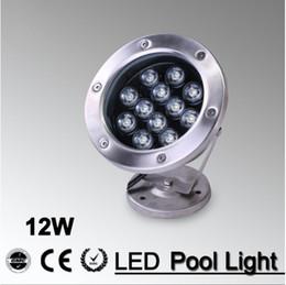 2019 luzes de natal ao ar livre de laser rgb IP68 fonte rgb levou luz de inundação ao ar livre piscina submarina piscina para piscina lagoa branco 12 V 220 V 3 W 6 W 9 W 12 W 18 W 10 pcs