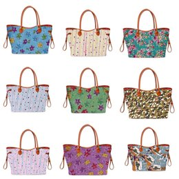 Bolsos de mano online-De lujo de alta qulity clásicos para mujer diseñador de los bolsos de mano señoras de la flor compuesta bolsas de hombro del embrague de cuero de la PU monedero femenino con la carpeta