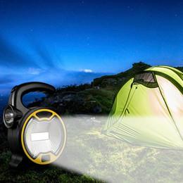 Le lampade a mano di lavoro hanno condotto online-Lampada portatile da lavoro o sospesa COB LED portatile Lanterna portatile impermeabile emergenza portatile riflettore ricaricabile per luce da campeggio