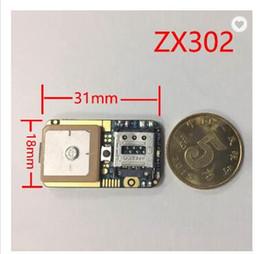 2019 modul gsm ZX302 Mini GPS Tracker PCB Montagesystem MT2503D GSM GPRS GPS Modul 31 * 18 * 4,5mm