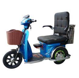 baterías de europa Rebajas Nuevo y cómodo asiento grande triciclo eléctrico de viaje para ancianos en el elevador de tres ruedas para adultos al por mayor