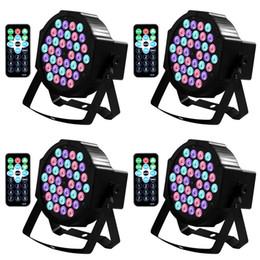 2019 barre de lumière led violet DJ Lights 36LED Par Lights RGB LEDs Phare Sonore Activé Sonore avec Télécommande Compatible avec Contrôleur DMX pour Wedding Party Club