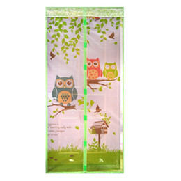 Magnetische Vorhänge Türgitter Tüll Eule / Affe Anti-Mücken-Vorhang Freisprechender Moskitonetz-Vorhang für Küchentürgitter von Fabrikanten