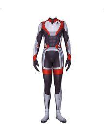 Мстители 4 Slim Onesies Marvel Фильм, окружающий один и тот же комплекс одежды от