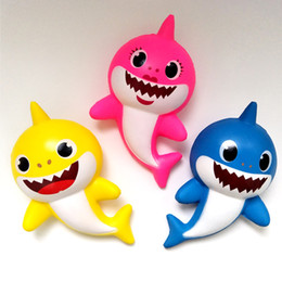 toy vent Promo Codes - 3 Color Squishy PU Baby shark Slow rebound toys New squishy Simulation Funny Gadget Vent Decompression toy B