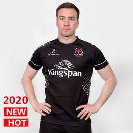 2019 jersey de rugby ao atacado DHL frete grátis 2020 New Home Ulster e longe camisa da equipe nacional ULSTER Rugby Jerseys kukri League jersey lazer camisas de esportes S-3XL