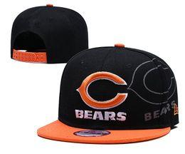 Viseras deportivas para mujeres. online-Top Fashion Men Women Sports Hat Bordado Letra Chicago BEAR Gradient Visor Sun Gorra de béisbol Snapback Fit Hip Hop Sombreros ajustables