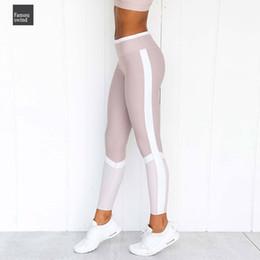 calças de poliéster brilhantes Desconto Side Wo Leggings Push Up impressão digital fêmea Leggings Mulheres cintura alta Exercício Leggings Calças Mulheres Moda