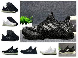 Precios de los zapatos de futbol online-bajo precio Future craft 4D Shoe mujer soccer ball shoes hombre babysbreath babysbreath fluore scence color Zapatillas de deporte originales runner 4D con l
