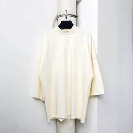 Новый Kanye West воскресная служба Святой Дух Cpfm футболки Мужчины Женщины свободные повседневная топ тройники негабаритных хлопок Kanye West футболки от