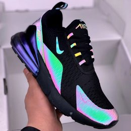 a3725cf3af air 270 2019 - 2019 New 270 3M Reflective Chameleon Glow in night Air  Running Shoes