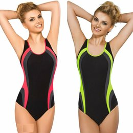 Costumi da bagno monikini online-Womens Swimwear Sport un pezzo costume da bagno bikini Beachwear Bathing Monikini