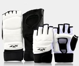 Art adulte en Ligne-Taekwondo Protections main et pied Protection cheville poignet demi doigt Équipement de boxe pour arts martiaux pour enfants adultes LJJQ117