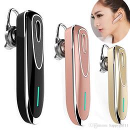 rey bluetooth Rebajas Nuevo estilo Bluetooth Auriculares Auriculares Auriculares inalámbricos Bluetooth con micrófono Estéreo Auriculares Manos libres Largo Modo de espera King 160