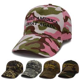 2019 fazer golfe Trump 2020 bonés de beisebol camuflagem fazer américa grande novamente Designer Chapéus Caps Ajustável Mens Snapback Chapéus Esporte Cap de Golfe Da Praia C7107 desconto fazer golfe