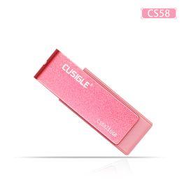 16 GB 32 GB 64 GB 128 GB 256 GB Para CUSUGLE CS58 Swivel 2.0 USB Flash Drive Lápiz de memoria U disco con un paquete desde fabricantes