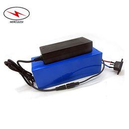 Литиевые батареи онлайн-Нестандартный размер электрический велосипед 48 В 20ah литий-ионная аккумуляторная батарея электронный велосипед аккумуляторная батарея для 1000 Вт 1500 Вт двигателя с зарядным устройством и BMS