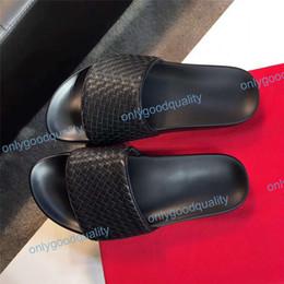 Kutu Tasarımcı ile Kauçuk slayt sandal Çiçek brokar erkekler terlik Dişli dipleri Çevirme kadınlar çizgili Plaj nedensel terlik Boyutu 35-46 cheap brocade boxes nereden brokar kutuları tedarikçiler