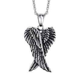 2019 kristallfederauszug halskette Männer engelsflügel choker gothic feder engelsflügel anhänger halskette für frauen herzform kristall aussage geschenke schmuck günstig kristallfederauszug halskette