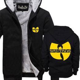 2019 wu tang hoodies Homens de inverno grosso hoodies casaco de lã masculino wu tang clã HIP HOP shubuzhi homem super quente tamanho euro jaqueta wu tang hoodies barato