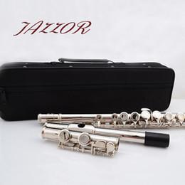professionelle okarina Rabatt Professionelle NEUE Flöte 16 Löcher C-Ton Qualitäts-Silber überzogenes authentisches Flöte instrument musicais, ocarina, flauta
