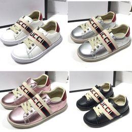 Zapatos casuales a prueba de agua online-Impermeable Moda Niños Niños Pisos zapatos de cuero niño formadores ocasionales muchacha del muchacho de las zapatillas de deporte del monopatín