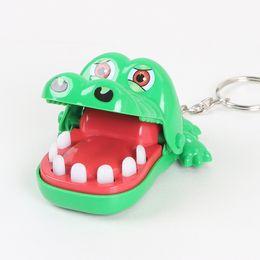 Крокодил Рот Зуб Стоматолог Bite Finger Game Новинка и кляп Забавные игрушки для детей и взрослых от Поставщики безопасная чистка