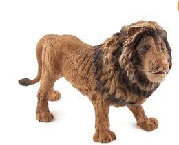 Canada Anglais Animaux Charmant et attrayant Loisirs et divertissements World Wildlife Cognition Modèle creux fait à la main simule des jouets de lion Offre