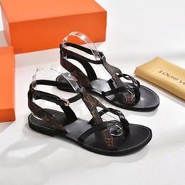 19ss nouveau style classique femmes nomade sandale cheville wrap cheville-wrap chaussures en métal solide boucle de ceinture confort décoration veau sandales ? partir de fabricateur