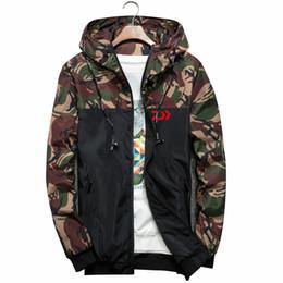 chaqueta rompevientos forro extraíble Rebajas Ropa de otoño Ropa de senderismo de secado rápido Ropa de deporte al aire libre Camisas de los hombres respirables de camuflaje de pesca más el tamaño 6xl