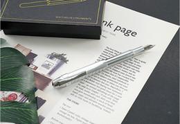 Kalite tüm-bakır retro cep, Kısa kalem, Sekizgen el yapımı iş hediyeler özelleştirilebilir LOGOclassique kırtasiye ofis okul su nereden hafif kral tedarikçiler