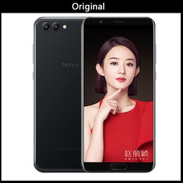 2019 caméra de recul bluetooth android Huawei Honor V10 4G 64G voir 10 Original téléphone portable Octa Core 5.99 pouces view10 Double caméra arrière d'empreintes digitales ID NFC honneur v 10 caméra de recul bluetooth android pas cher