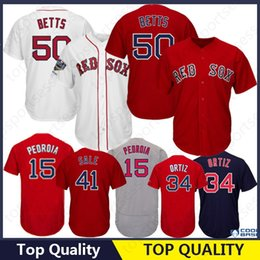 460e4b5fd Boston 50 Mookie Betts Jersey 15 Dustin Pedroia 9 Ted Williams 28 J D  Martinez J.D. 34 16 Andrew Stitched cheap ted williams jerseys