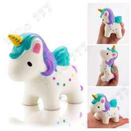 Puppenfutter online-Fliegende Haus squishy langsam steigende Pony Horse squishy Squeeze Schleim Spielzeug Doll Fun Antistress Schleim Spielzeug Geschenk Simulation Essen