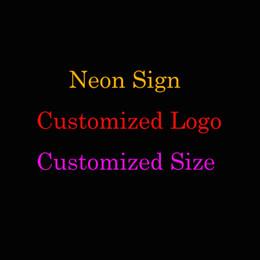 Personalizado sinal de néon Real vidro lâmpada colorida sinal suave de Fornecedores de e coroa