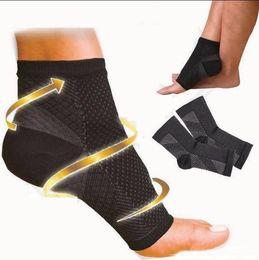2019 calcetines de manga del pie Foot Angel Anti Fatiga Foot Compression Sleeve Calcetines deportivos Ejercicio Presión protectora Calcetines de baloncesto Soporte FBA Drop Shipping M229F